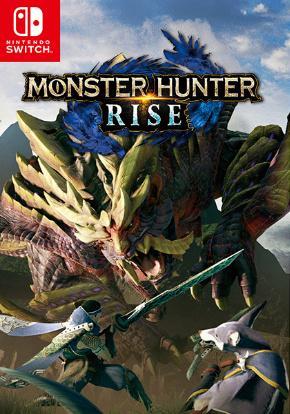 Monster Hunter Rise carátula