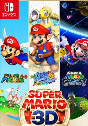 Super Mario 3D All-Stars carátula