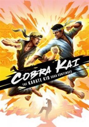 Cobra Kai The Karate Kid Saga Continues cartel