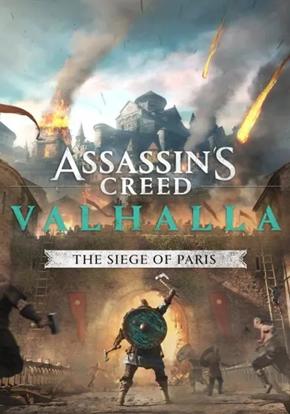 Assassin's Creed Valhalla El asedio de París cartel