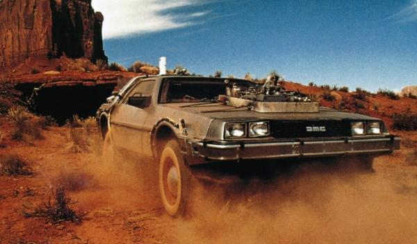 El DeLorean de Regreso al futuro III