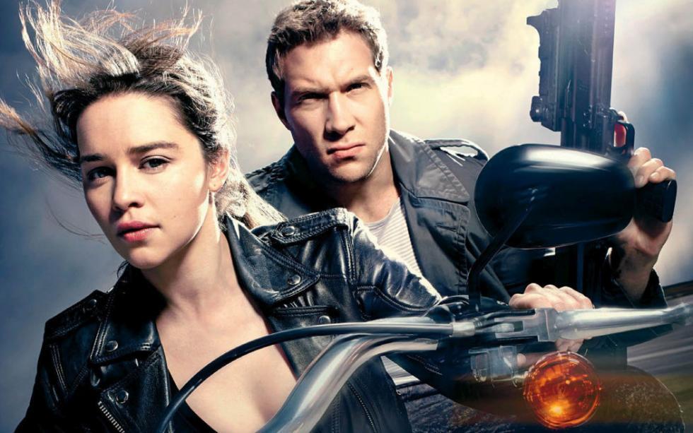 Terminator Génesis, sobre la moto