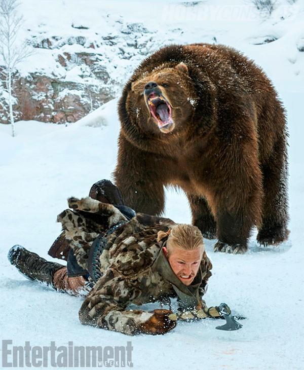 Vikingos temporada 4 - La anécdota de la muerte de un ...