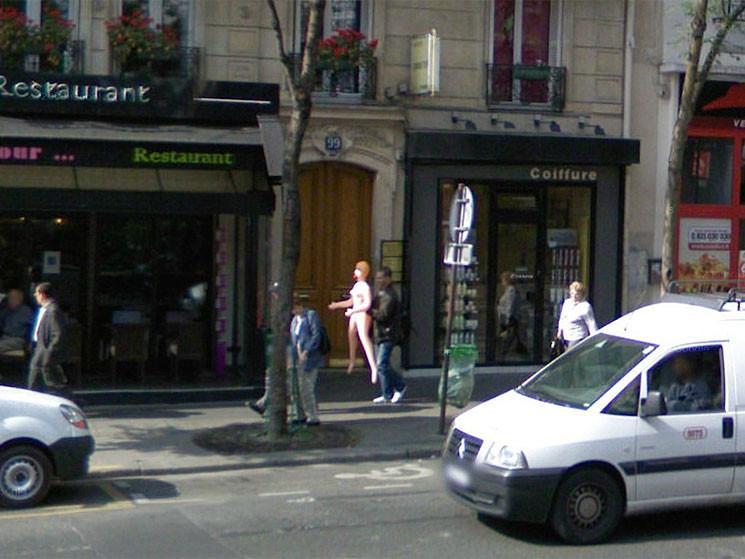 Imágenes impactantes de Google Street View