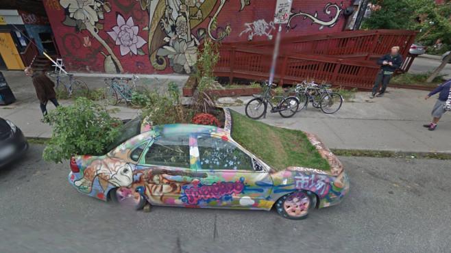 imágenes graciosas de Google Street View