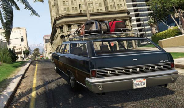 Ford Mercury GTA V