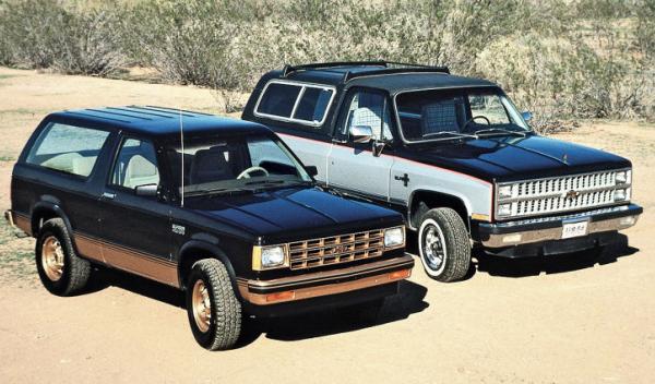 Chevrolet Blazer Delantera