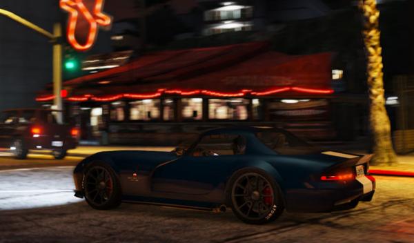 Dodge Viper SRT GTA V