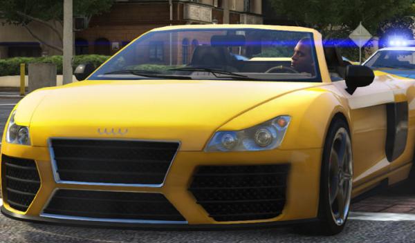 Audi R8 GTA V