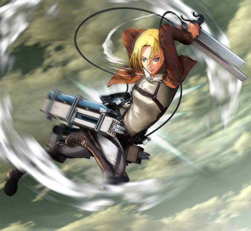 Annie Leonhart en Attack on Titan Wings of Freedom