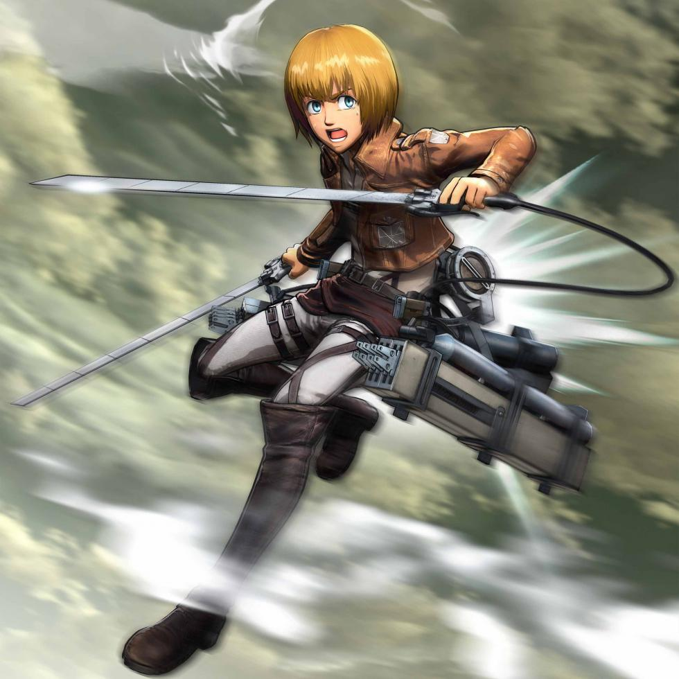 Armin Arlert en Attack on Titan Wings of Freedom