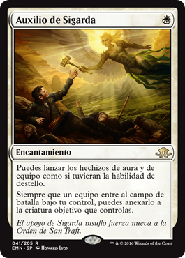 Sigarda's Aid Eldritch Moon MTG