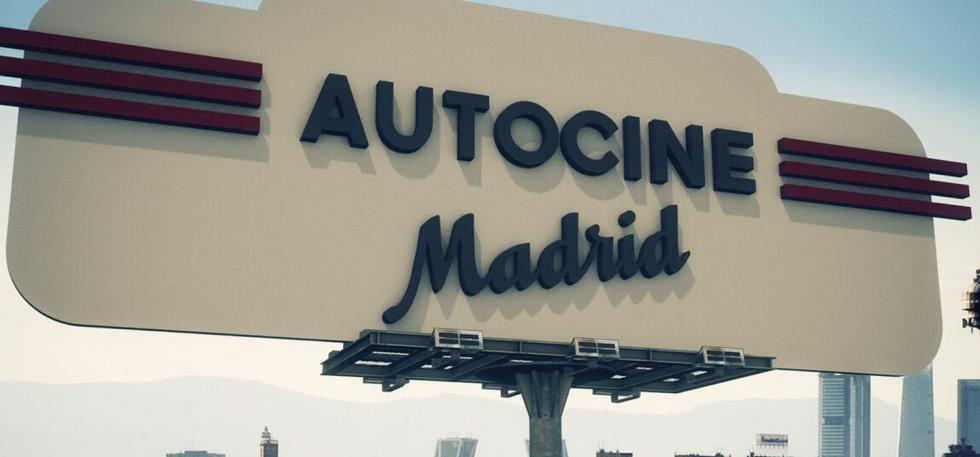 Cine en coche en Madrid