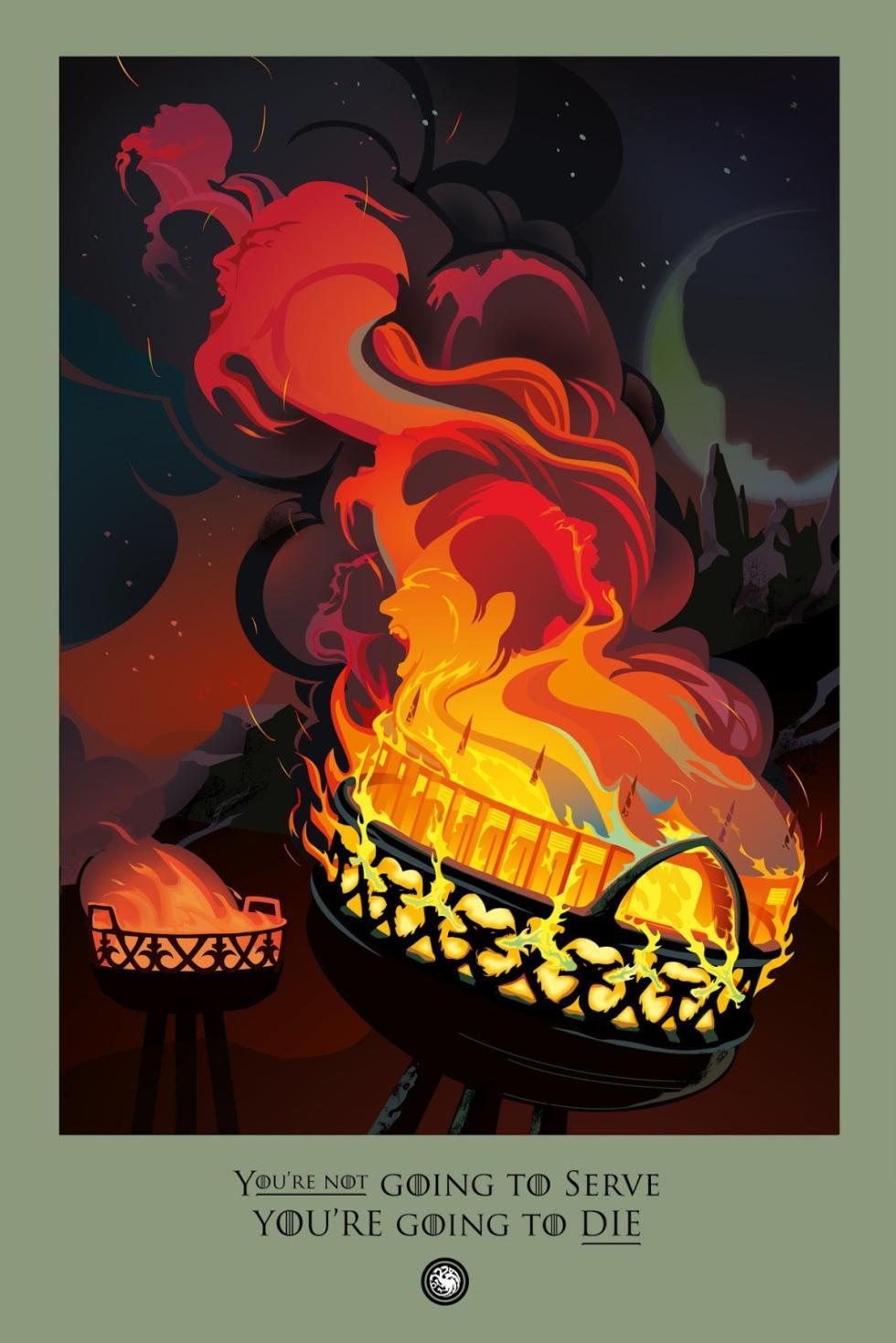 Robert ball ilustraciones Juego de tronos