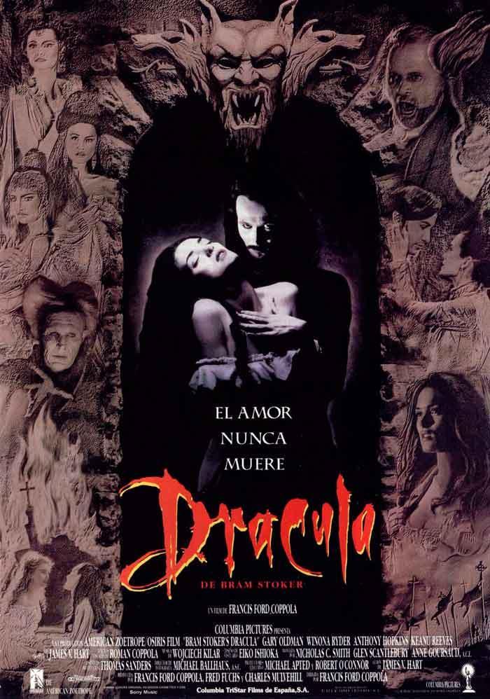 Cartel de Drácula de Bram Stoker