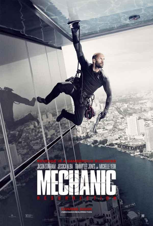 Cartel de Mechanic: Resurrection