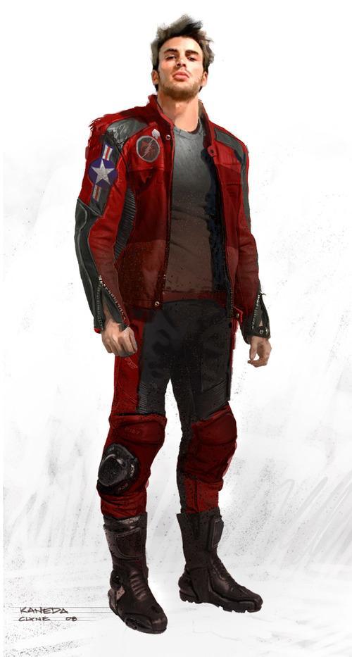 Chris Evans como Kaneda