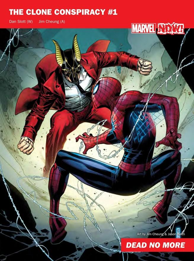 The Clone Conspiracy de Marvel NOW!