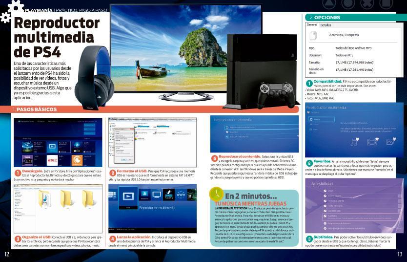 Cómo usar el reproductor multimedia de PS4