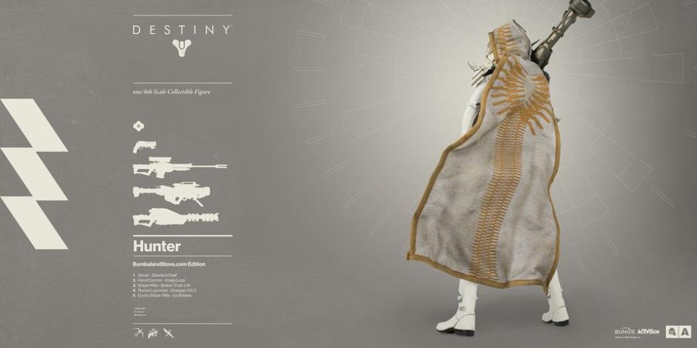 Destiny figura cazador 3A bambaland exclusive
