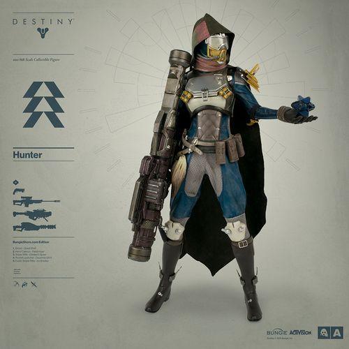 Destiny figura de Cazador exclusivo Bungie