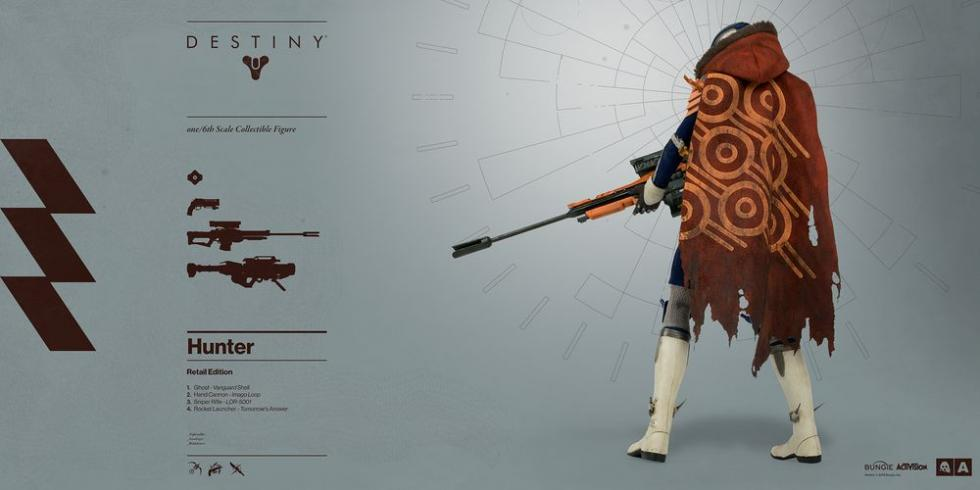 Destiny figura de Cazador exclusivo retail