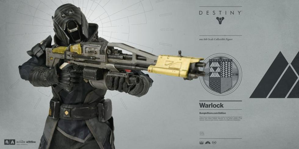 Destiny figura Hechicero 3a exclusiva bungie