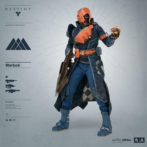 Destiny figura Hechicero 3a exclusiva retail