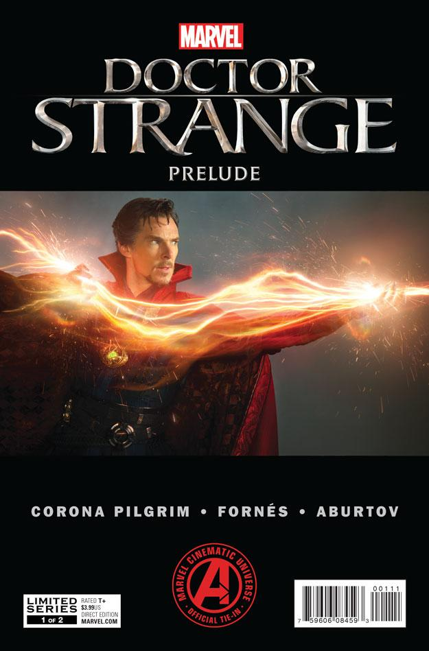 Doctor Strange preludio comic