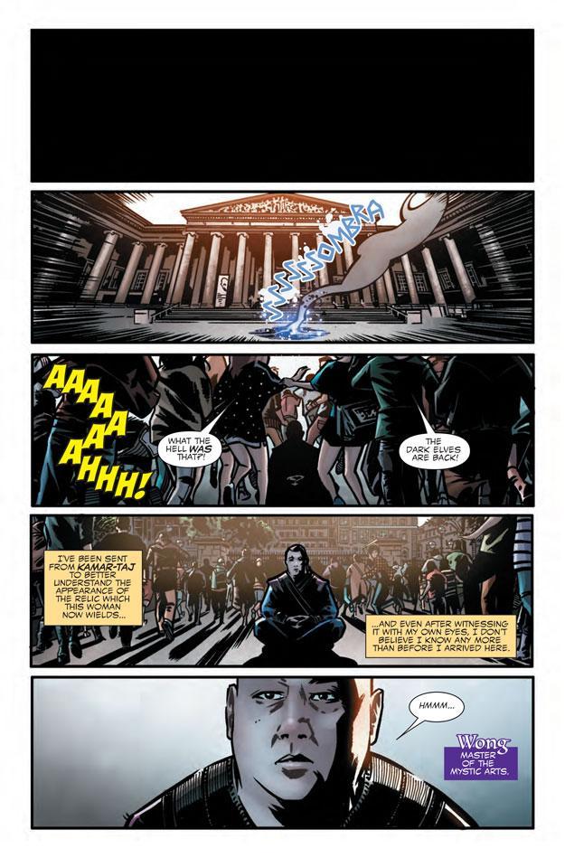 Doctor Extraño preludio comic