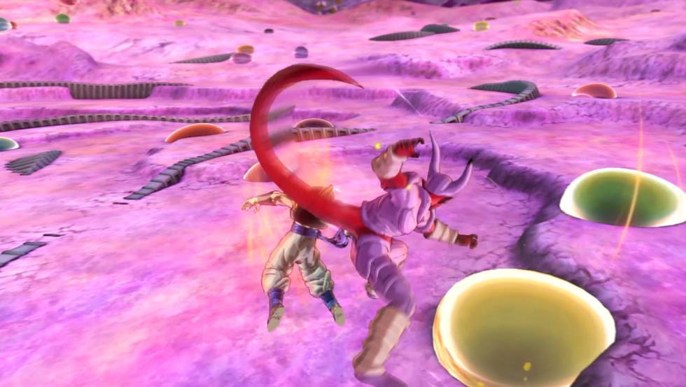 Dragon Ball Xenoverse 2 infierno