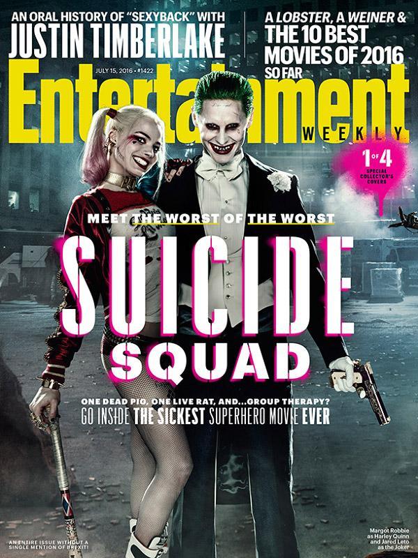 Escuadron Suicida revista Entertainment Weekly