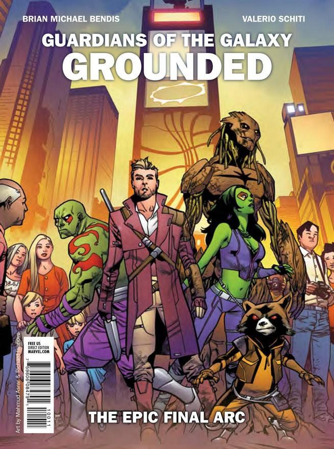 Guardianes de la Galaxia de Marvel NOW!