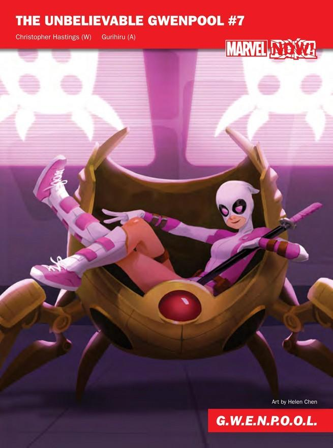 Gwenpool de Marvel NOW!