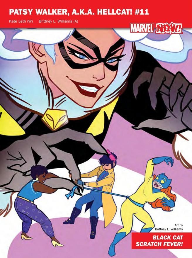 Hellcat de Marvel NOW!