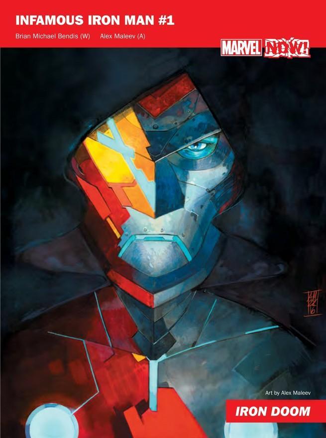 Infamous Iron Man de Marvel NOW!