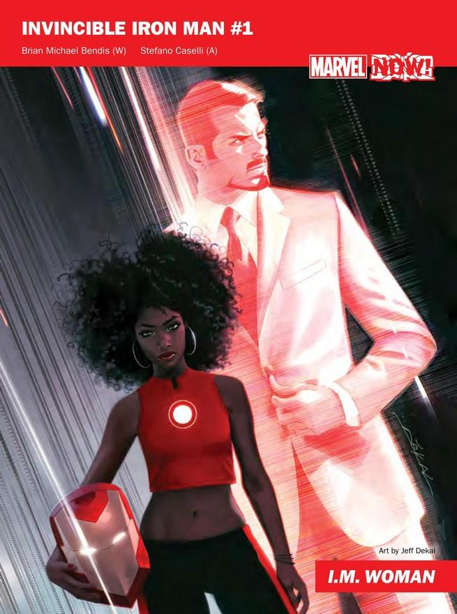 Invincible Iron Man de Marvel NOW!