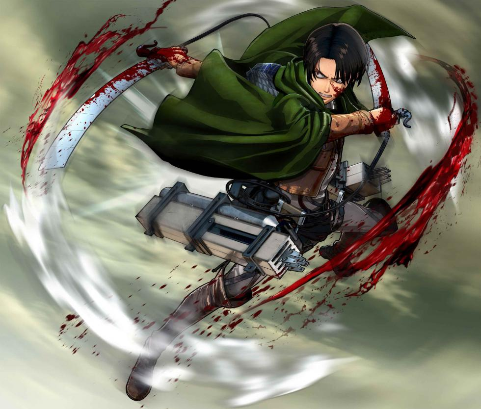 Levi en Attack on Titan Wings of Freedom