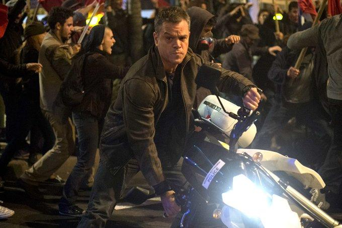 Matt Damon en Jason Bourne