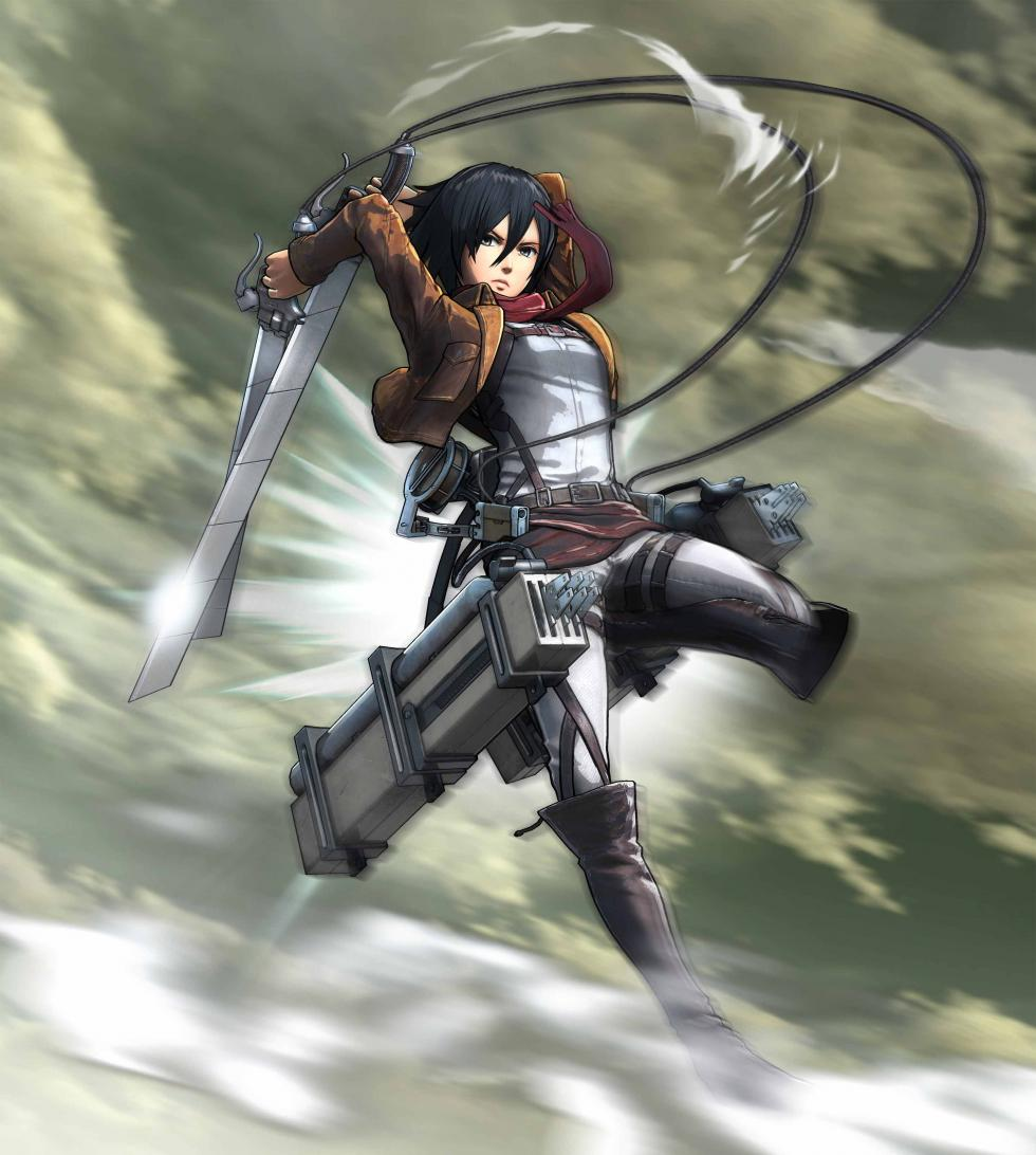 Mikasa Ackerman en Attack on Titan Wings of Freedom