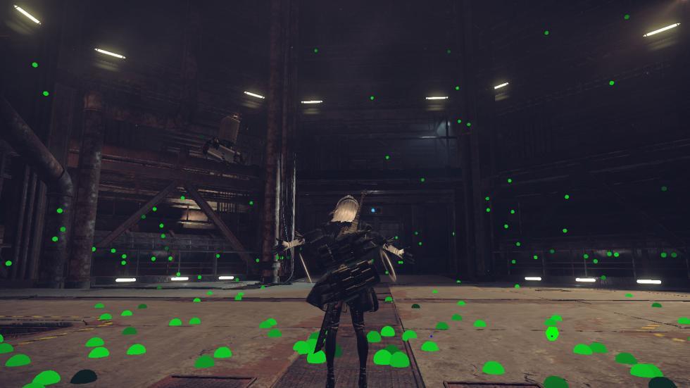 NieR: Automata Desarrollo