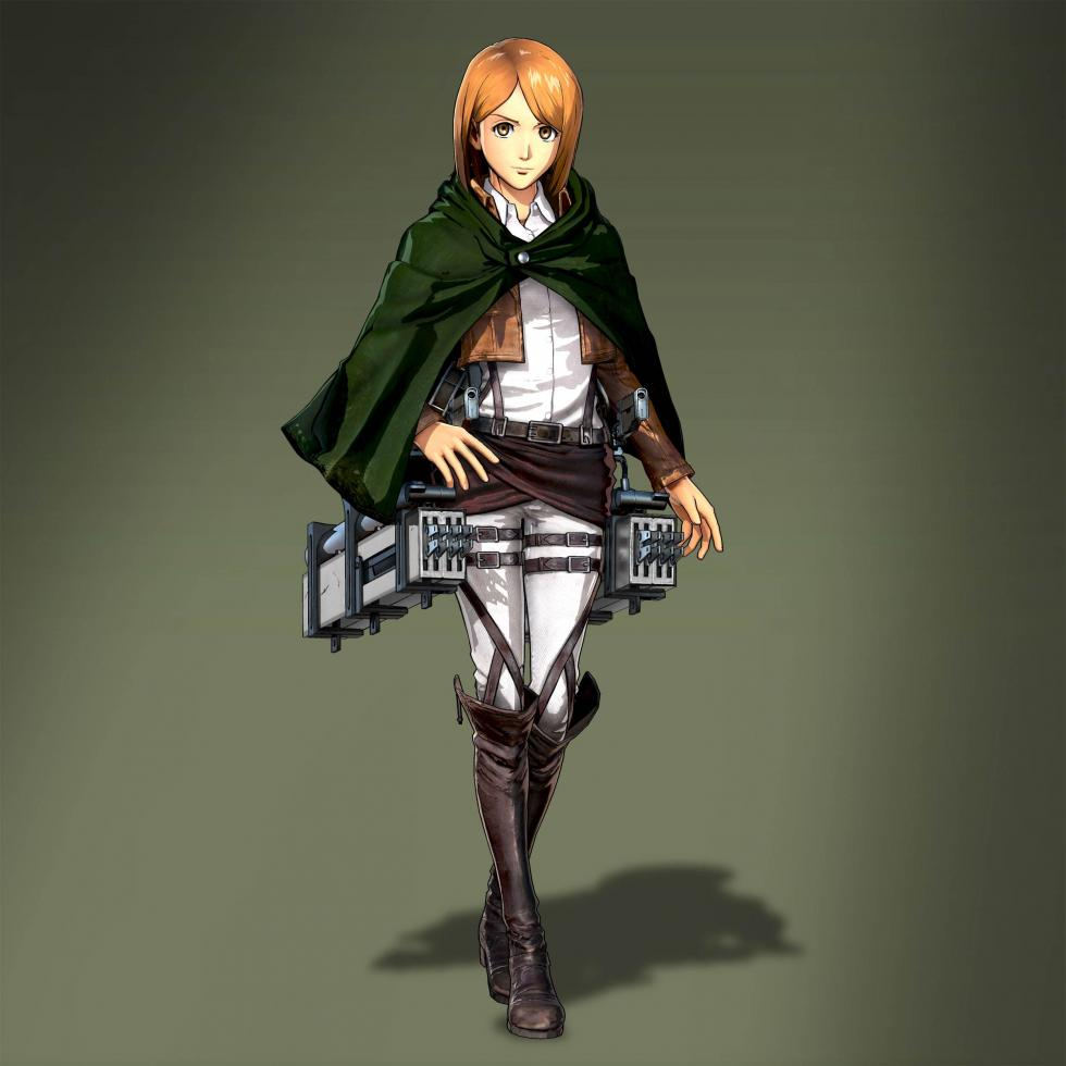 Petra en Attack on Titan Wings of Freedom