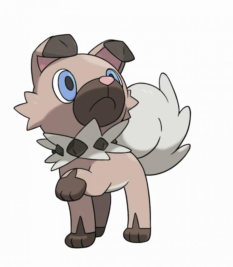 Rockruff en Pokémon Sol y Luna