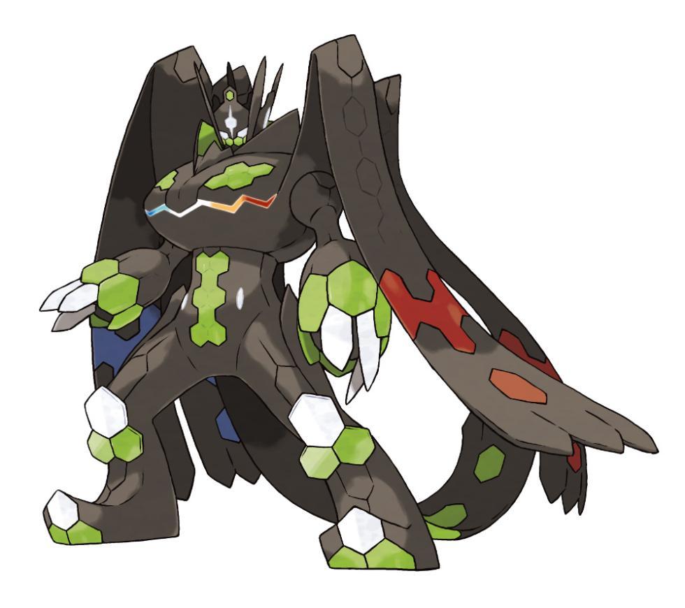 Zygarde Forma Completa en Pokémon Sol y Luna