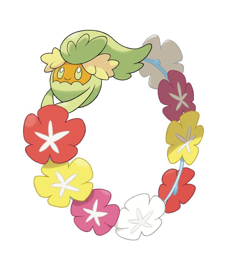 Comfey en Pokémon Sol y Pokémon Luna