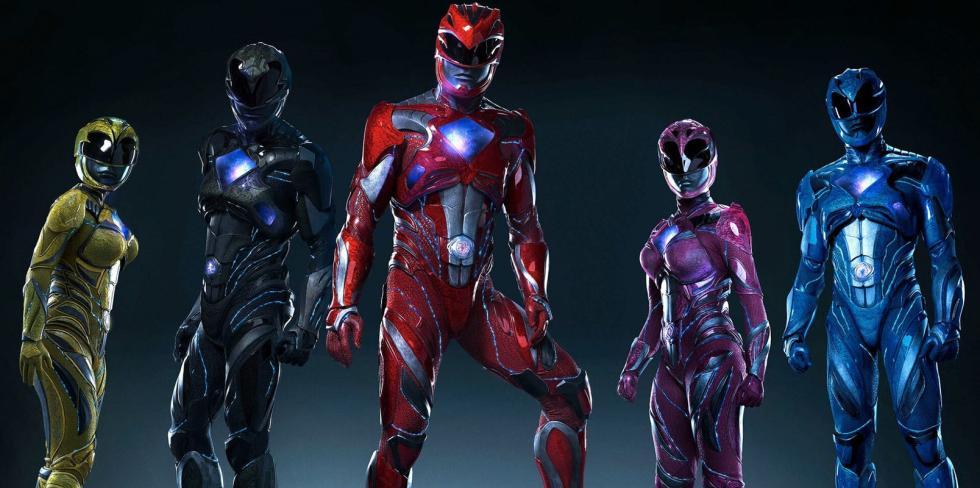 Armadura completa Power Rangers
