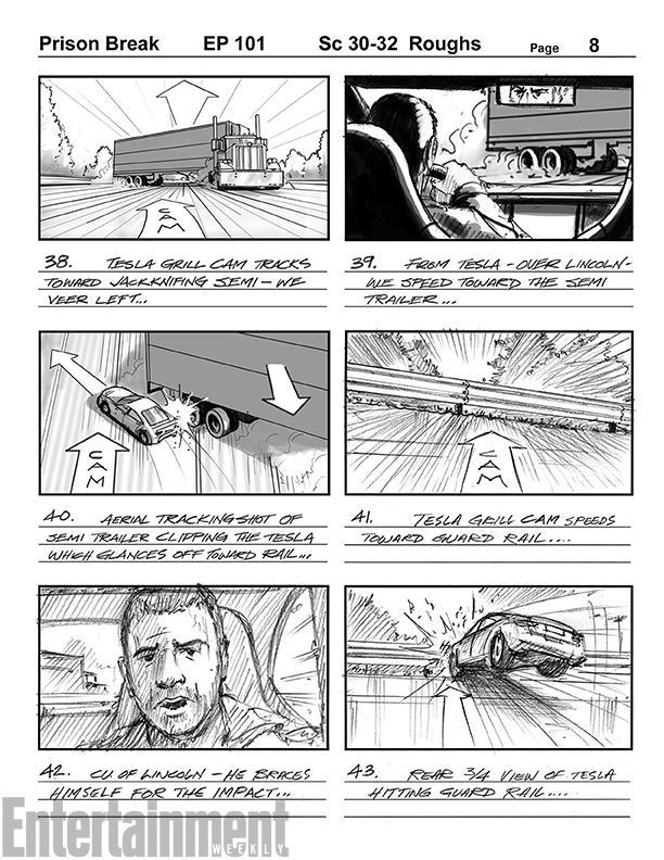 temporada 5, Storyboard, Lincoln Burrows