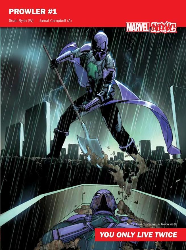 Prowler de Marvel NOW!