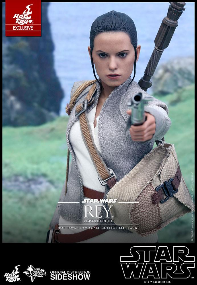 Star wars Rey (Resitance outfit) de Hot Toys