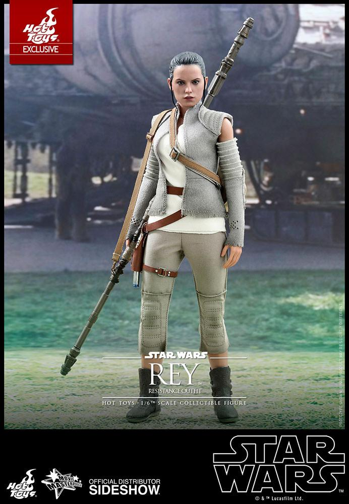 Star wars Rey (Resitance outfit) de Hot Toys